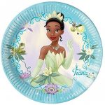black fairy princess plate