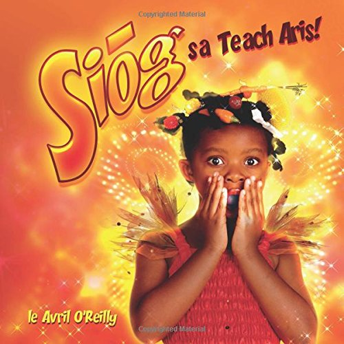 Front covver of Irish langauge children's book Siog sa Teach