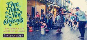 Street scene in New Orleans