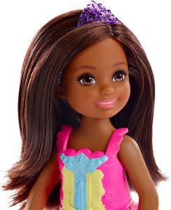 black little girl fairy doll