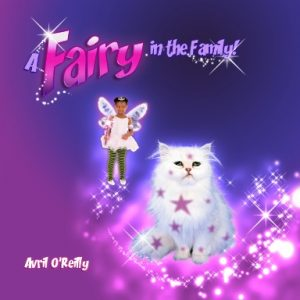 a black fairy princess has done a magic spell on her cat