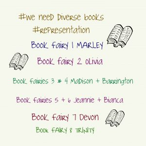 List of names of people who distribute diverse books