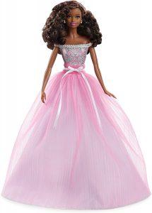 sweet smiling doll in full skirt